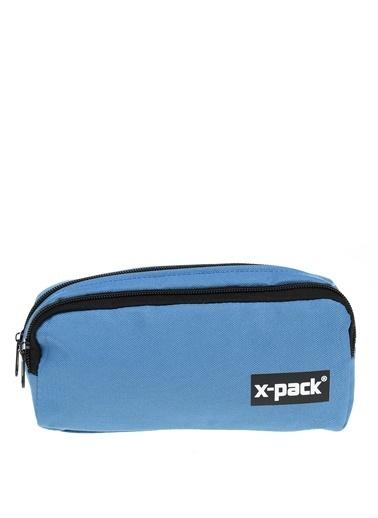 X-Pack Kalem Çantası Mavi